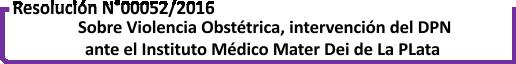 Botón resoluciones Mater Dei La Plata